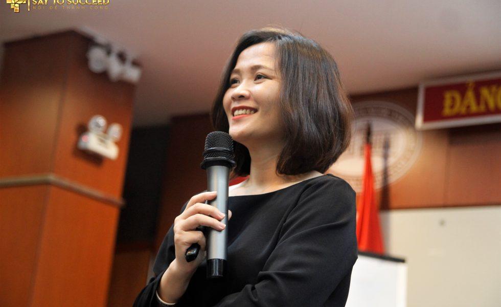 Thạc sĩ tâm lí cô Nguyễn Thị Trang Nhung