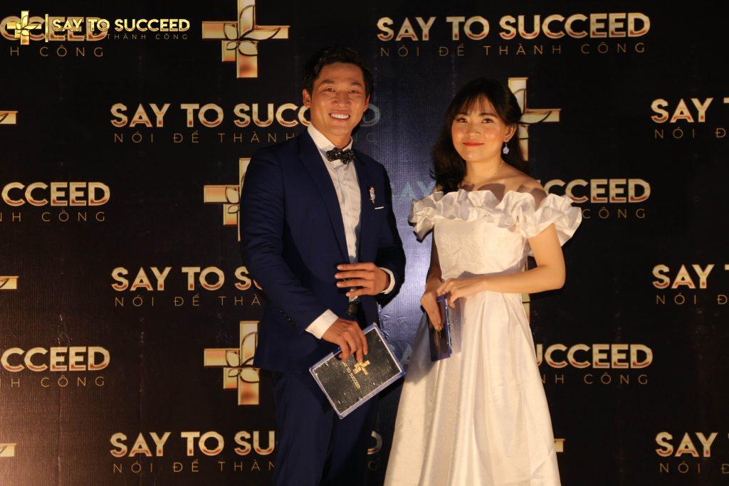Hai MC của Đêm Chung kết Say to Succeed 2020